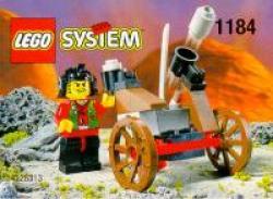 Lego 1184 Ninja Ninja Katapult